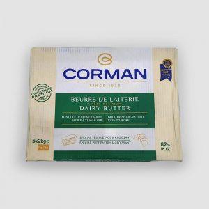 Corman Dairy Butter Sheet 2kg