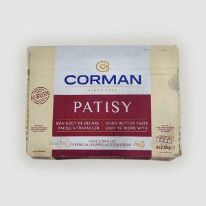Corman Patisy Bulk Unsalted Butter 2.5kg