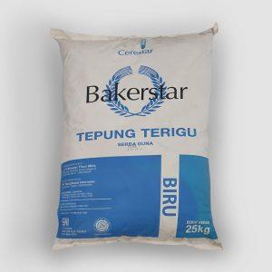 Tepung Terigu Bakerstar Biru 25kg